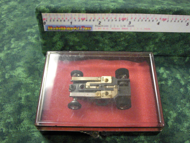 Box for Aurora AFX 1971 Dated Slot Car Chassis (pre Magna-Traction)