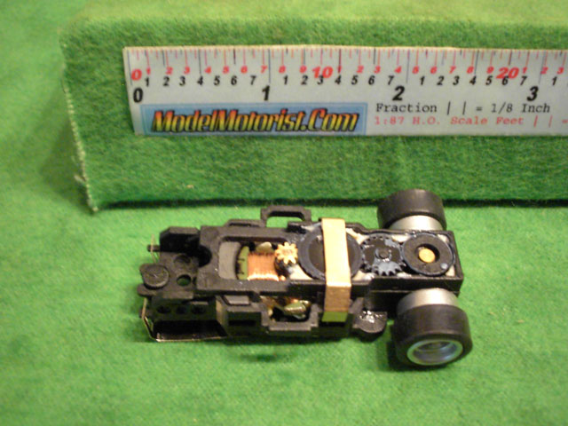 Top view of Auto World 4 Gear Ultra G
