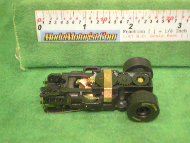Top view of Auto World Dragster