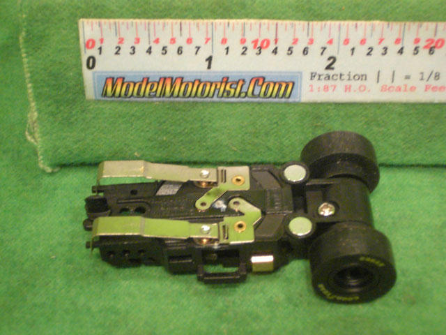 Bottom view of Auto World Dragster