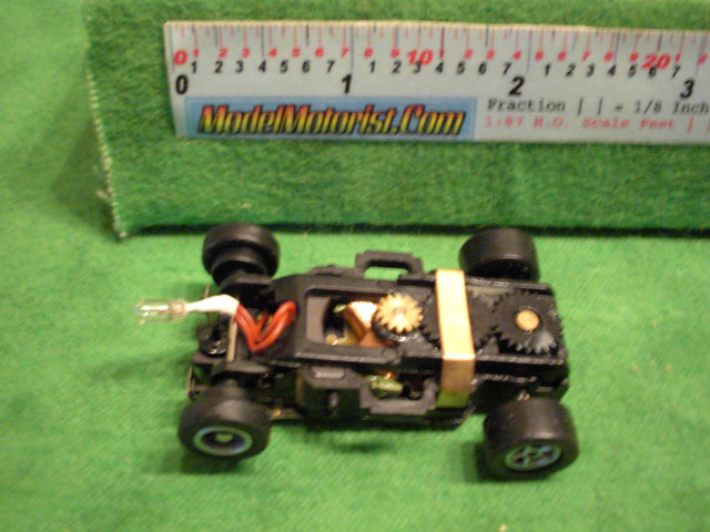 Top view of Auto World X-Traction Flame-Thrower