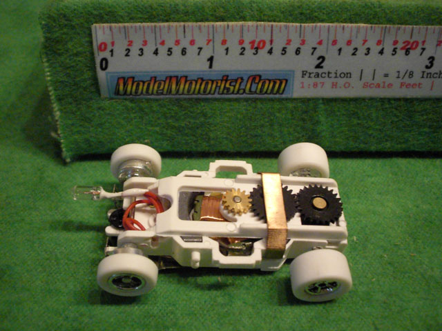 Top view of Auto World iWheels Flame-Thrower