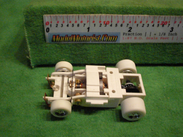 Top view of Auto World iWheels