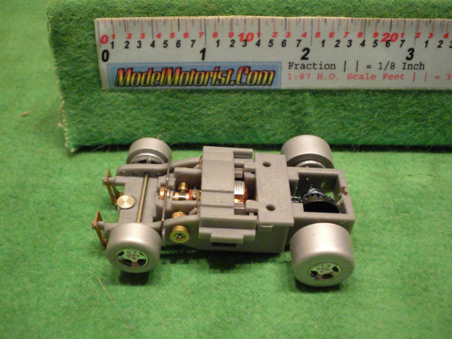 Top view of Auto World Super III Version 1