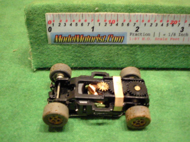Top view of Auto World X-Traction Dirty