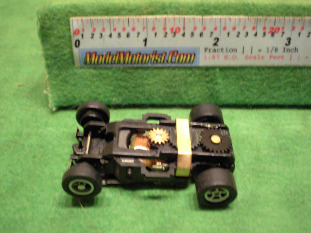 Top view of Auto World X-Traction Ultra G (black)