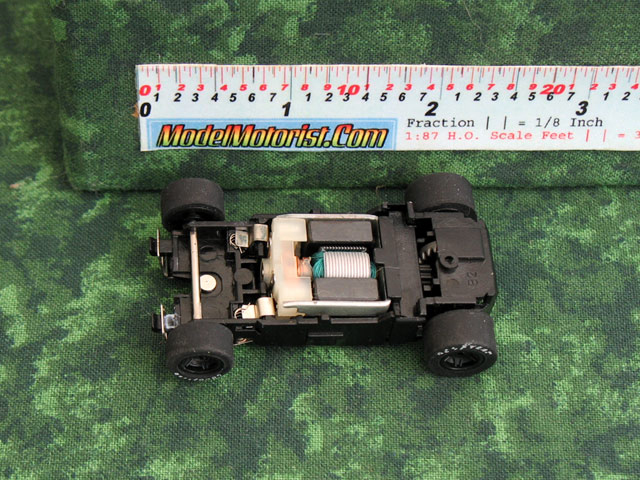 Top view of MicroScalextric MR 1 Racing HO Slot Car Chassis