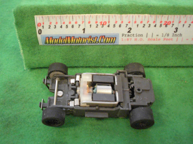 Top view of Empire MR1 Racing HO Slot Car Chassis