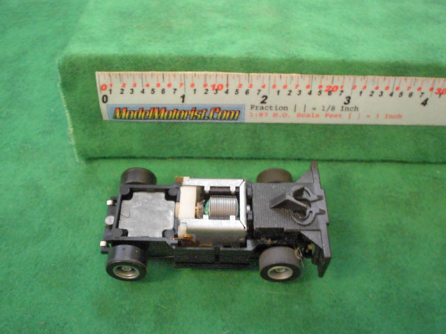 Top view of Tyco US1 Electric Trucking HO Semi Cab Chassis