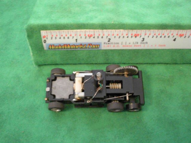 Top view of Tyco US1 Electric Trucking HO Wrecker Truck Chassis