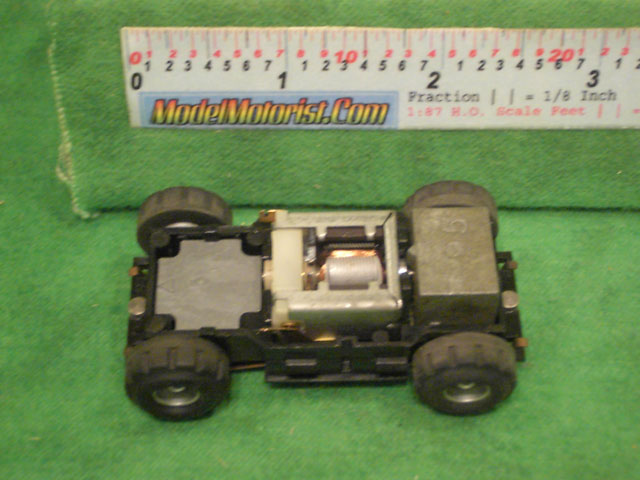 Top view of Tyco US1 Electric Trucking Stompers Chassis